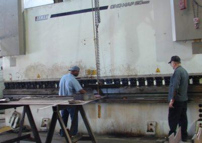 Clayton Industries 880 Ton Press Brake